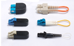 Molded Fiber Optic Loopback Plug