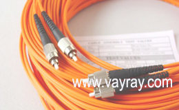 Multimode Duplex FC to FC Fiber Optic Patch Cable