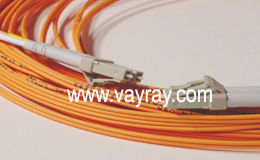 Multimode Duplex LC to LC Fiber Optic Patch Cable