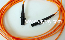 Multimode Duplex MTRJ to MTRJ Fiber Optic Patch Cable
