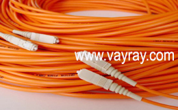 Multimode Duplex SC to SC Fiber Optic Patch Cable