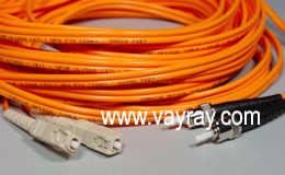 Multimode Duplex SC ST Fiber Optic Patch Cable