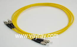 Single mode Duplex FC to FC Fiber Optic Patch Cable
