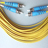 Single mode Duplex ST to ST Fiber Optic Patch Cable